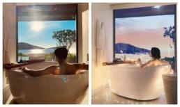 Hồ Quang Hiếu đăng tải ảnh trong phòng tắm, cư dân mạng lại gọi tên Bảo Anh
