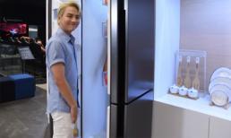 Duy Khánh hẹn hò bạn đi chơi trong... tủ lạnh khổng lồ