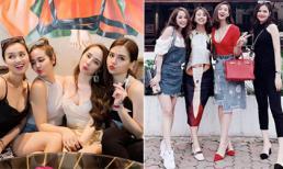 Ngắm gu thời trang 'chanh sả' của hội bạn thân nổi tiếng miền Bắc: Lã Thanh Huyền, Vân Hugo, Quỳnh Nga