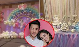 Hậu ly hôn, Dương Mịch và Lưu Khải Uy lần đầu tổ chức sinh nhật hoành tráng cho con gái?