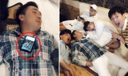 Đăng ảnh 'dìm hàng' Trấn Thành ngủ khò, BB Trần tiết lộ nam MC nghe clip Trang Trần chửi để vào giấc ngon hơn