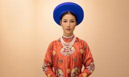 Gạt nỗi buồn trở lại với công việc, Diễm My 9x cực xinh đẹp và nền nã trong trang phục hoàng tộc