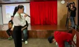 Gil Lê ngượng ngùng, liên tục 'vò đầu bứt tai' khi nghe Phạm Quỳnh Anh hát hit của Chi Pu