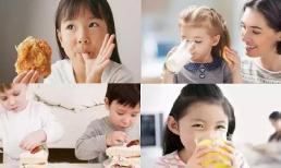 Cảnh báo 6 thứ trẻ không được ăn trước khi đi ngủ, khiến chúng ngừng phát triển