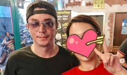 Hoắc Kiến Hoa lặn lội đến phim trưởng ở Malaysia thăm bà xã Lâm Tâm Như sau 1 tháng trời không gặp
