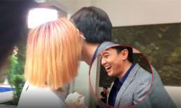 Lộ diện cô gái lạ 'cả gan' qua mặt Bảo Thanh, đặt nụ hôn lên má Quốc Trường trước cả đoàn phim