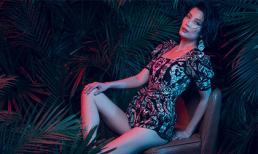 Siêu mẫu Vũ Cẩm Nhung trở lại với hình ảnh lôi cuốn trong những bộ váy xẻ táo bạo