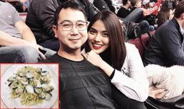 Mang thai 3 tháng, Lan Khuê hạnh phúc khoe điều bất ngờ ông xã làm cho mình