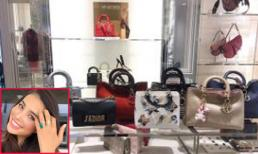 Phạm Hương có ý định rao bán lại loạt túi xách hàng hiệu ở Mỹ