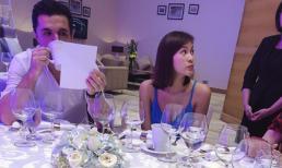 Phương Mai cùng hôn phu đến khách sạn kiểm tra thực đơn chuẩn bị cho tiệc cưới