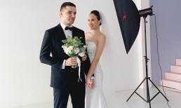 Hậu trường chụp ảnh cưới siêu đáng yêu của siêu mẫu MC Phương Mai cùng chồng Tây