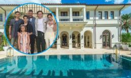 Bên trong dinh thự hơn 466 tỷ đồng nơi vợ chồng David Beckham và 4 con ở trong chuyến du lịch Miami