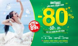 Edena khiến chị em 'ngỡ ngàng đến bàng hoàng' với chương trình giảm giá lên đến 80%++ cho tất cả sản phẩm