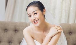 MC Phí Linh khoe bộ ảnh cưới xinh như công chúa