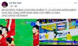 MC Lại Văn Sâm: 'Thái Lan là chủ nhà không đẹp. Chơi xấu cũng chấp nhá!'