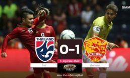 Báo Thái: Cả nước sốc nặng, bóng đá Thái Lan bị tổn thương!