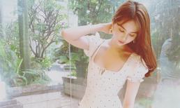 Sau loạt ồn ào về trang phục, Ngọc Trinh nhận mưa lời khen với đầm trắng nhẹ nhàng