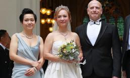 'Tiểu Long Nữ' gốc Việt chính thức cưới tỷ phú Hong Kong ở tuổi 55, thành dâu nhà siêu tỷ phú Hong Kong