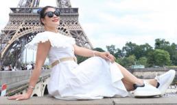 Hoa hậu Đàm Hương Thủy ngồi ghế nóng giám khảo sau 2 năm đăng quang