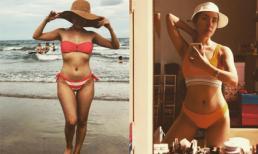 Ca sĩ Phương Linh khoe thân hình nóng bỏng ở tuổi 34 khi diện bikini, chặt đẹp hội chị em 9x