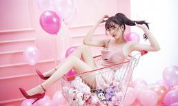 Hết 'bánh bèo', Á hậu Thuý An tinh nghịch trong bộ ảnh mừng sinh nhật