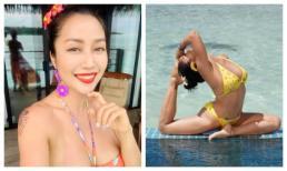 Ốc Thanh Vân diện bikini bốc lửa khi du lịch cùng chồng tại đảo thiên đường Maldives
