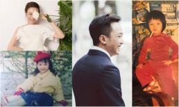 Bị Đàm Thu Trang khui ảnh 'chất chơi' ngày bé, Cường Đô la đáp lại đầy ngọt ngào