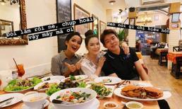 Lý Nhã Kỳ lại chứng tỏ độ 'mặn' với câu chuyện đi ăn cua cùng Hoa hậu H'Hen Niê