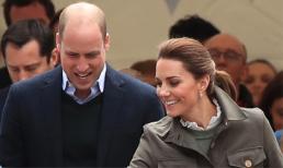 Mặc tin đồn ngoại tình, Hoàng tử William cùng Công nương Kate rạng rỡ sánh đôi