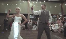 Cha và con gái biến tiệc cưới thành sàn khiêu vũ khiến khách mời không thể rời mắt