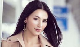 Hoa hậu Phương Khánh 'hút hồn' người hâm mộ với nhan sắc nổi bật tại sân bay