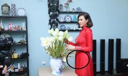 Siêu mẫu Phương Mai bất ngờ phát tướng toàn tập trong ngày cưới, đặc biệt là vòng hai