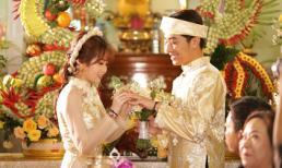 Cặp đôi hot nhất hôm nay: Youtuber Cris Phan tình tứ trao nhẫn cho hot girl Mai Quỳnh Anh trong đám cưới