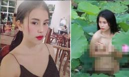 Phía nữ diễn viên dính nghi án chụp ảnh nude ở đầm sen lên tiếng, nhờ cơ quan chức năng vào cuộc điều tra