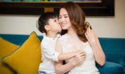 Đan Lê hài hước kể câu chuyện quyết giữ chồng hộ mẹ của con trai nhỏ