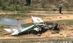Vụ rơi máy bay quân sự ở Khánh Hòa: Bộ Quốc phòng thông tin danh tính 2 phi công hy sinh