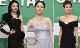'Mỹ nhân Tân Cương' Đồng Lệ Á quyến rũ, 'chém đẹp' nhiều ngôi sao đồng nghiệp trên thảm đỏ