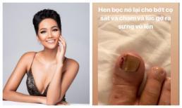 Khoe tóc mới đầm xinh, Hoa hậu H'Hen Niê tiếc hùi hụi khi phải bỏ qua đôi giày cả trăm triệu
