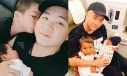 Chỉ trong hai tháng, NTK Đỗ Mạnh Cường chính thức trở thành ông bố 4 con khiến bao người bất ngờ