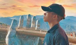 Đăng ảnh ảo diệu khi đi du lịch Đà Nẵng, Đức Phúc khiến fan phải nể vì kỹ năng chỉnh ảnh 'thượng thừa'