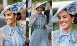 Gia đình Hoàng gia rủ nhau mặc đồ xanh tại lễ hội Royal Ascot, Công nương Kate chiếm sóng với loạt khoảnh khắc đẹp như tranh vẽ
