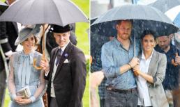 Hoàng tử William có hành động bất ngờ với vợ sau vụ lùm xùm ngoại tình, nhưng so với nhà Meghan vẫn khác nhau một trời một vực