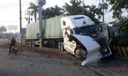 Tài xế xe container tông chết 5 người ở Tây Ninh bị khởi tố