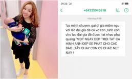 Bị tố sinh con cho lão đại gia để được hát nhạc Phú Quang, Minh Chuyên phản pháo vừa chất vừa dí dỏm