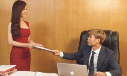 Công Phượng gây sốt khi bảnh bao làm chủ tịch bên thư ký nóng bỏng - MC Thu Hoài