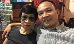 MC Lại Bắc Hải Đăng khoe ảnh hiếm hoi chụp cùng mẹ ruột nhân ngày Nhà báo