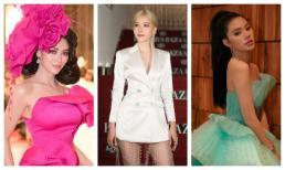 Thảm đỏ sốc nhất showbiz Việt: Nam Em quên mặc quần, Phương Khánh hoá đoá hoa, Jolie Nguyễn là giấy gói quà