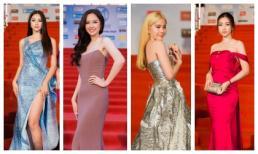 Mai Phương Thúy, Nam Em khoe thành tích giảm cân, hội Hoa hậu chặt chém bất phân thắng bại trên thảm đỏ