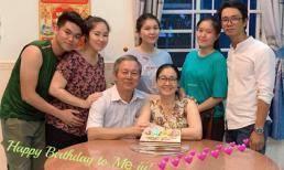 Lộ diện mẹ trẻ đẹp và 2 cô em gái xinh như hot girl của diễn viên Lê Phương