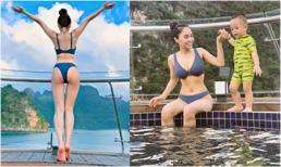 Diện bikini 2 mảnh, ca nương Kiều Anh phô trọn body đẹp hết ý trên du thuyền hạng sang